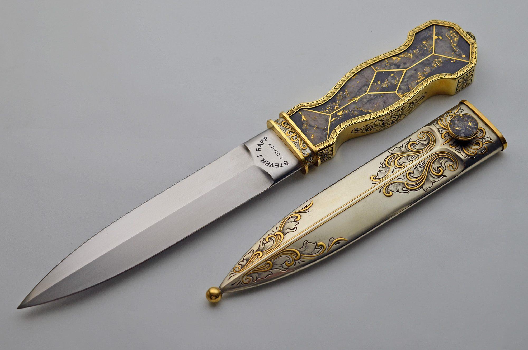 steve rapp bowie knife