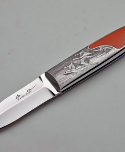 Charlie Bennica folder engraved by Firmo Fracassi