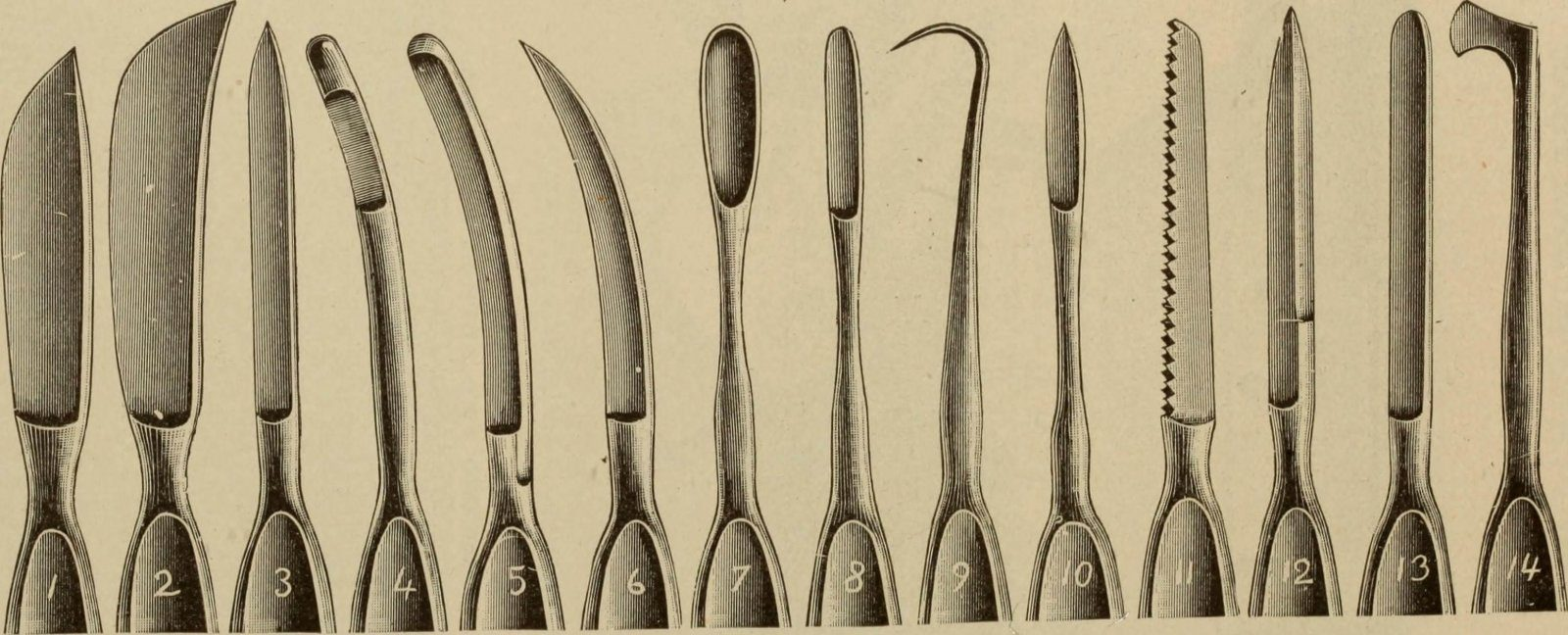 The Progression of Surgical Knives