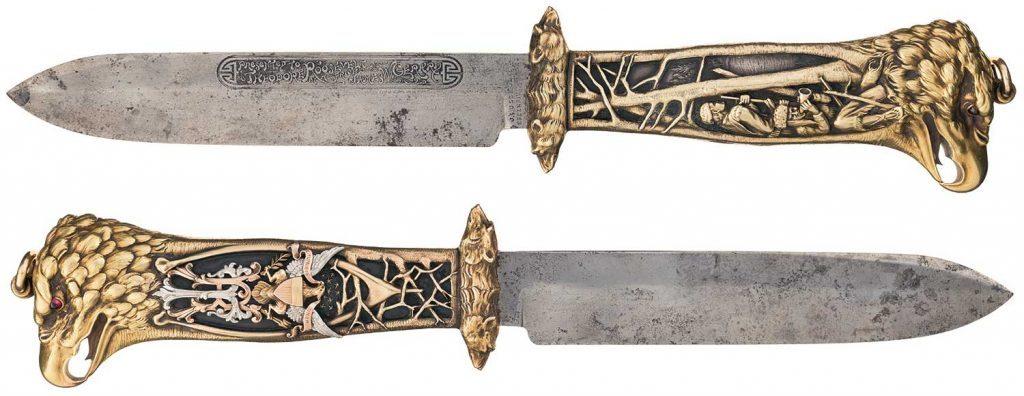 Theodore Roosevelt's custom knife