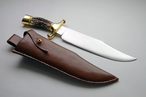 ABS Mastersmith Collaboration Knife #1 and Sheath
