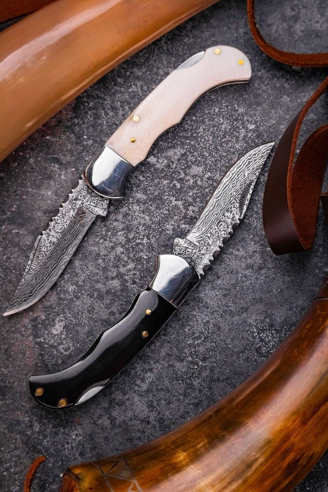 pattern welded knives