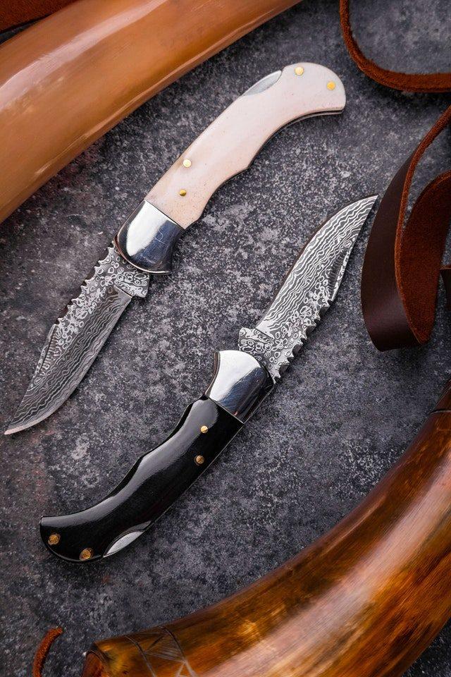 pattern welded knives